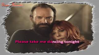 Karaoké - Mylène Farmer & Sting - Stolen car (Duo)