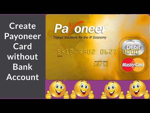 Payoneer Master Card Free in 2020 without any Bank Account  100% free   payoneer mastercard