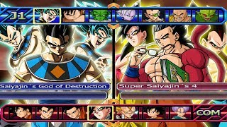 Baixar Saiyajin´s God of Destruction VS Super Saiyajin´s 4 | Dragon Ball Z Budokai Tenkaichi 3