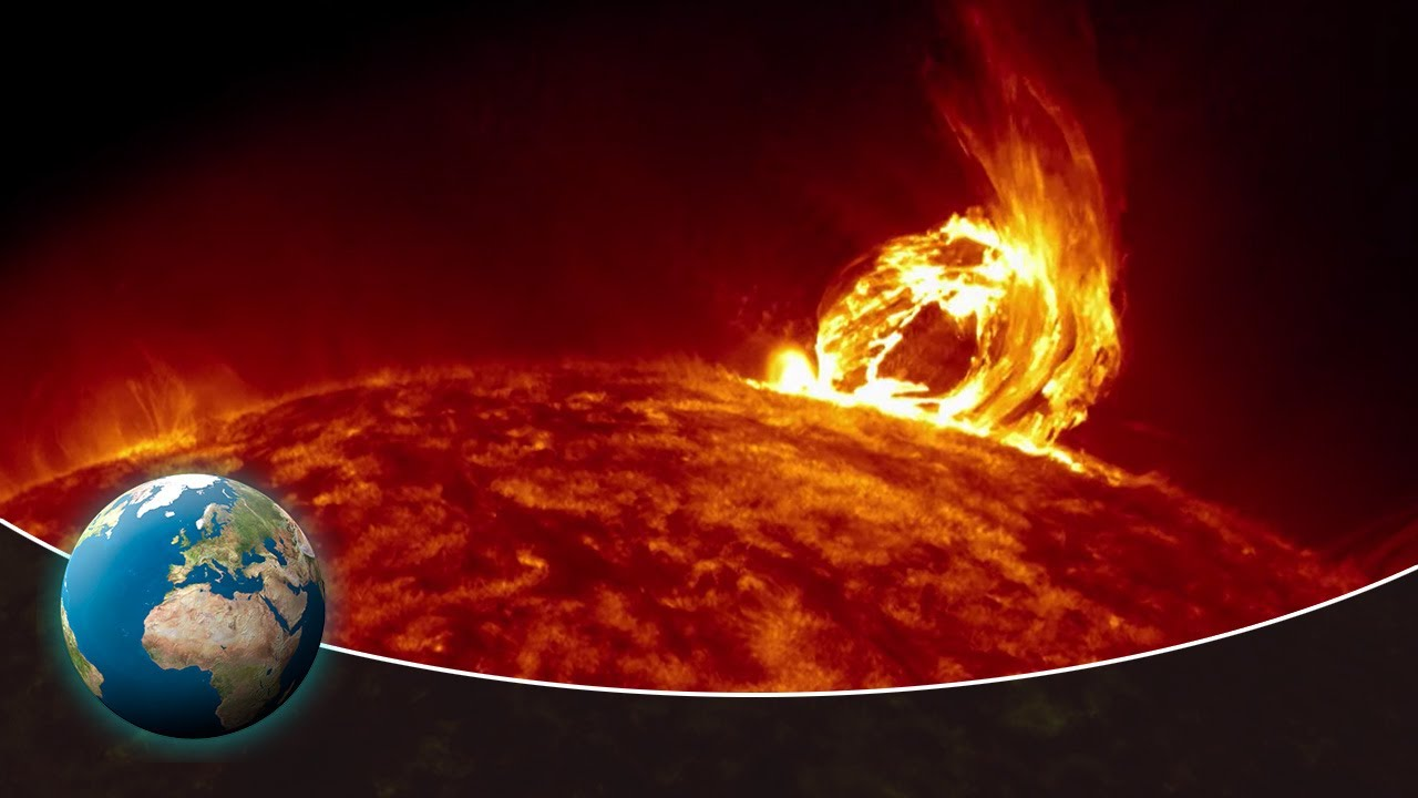 Solar storms - The unpredictable danger - YouTube