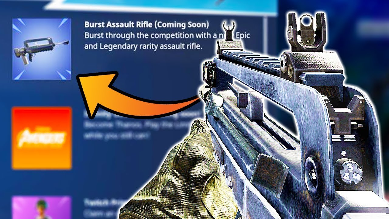 the FAMAS is coming to FORTNITE!! | Chaos - YouTube
