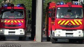 Départ incendie SDIS 68 CIS Mulhouse