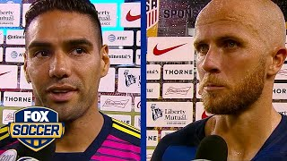 Radamel Falcao and Michael Bradley talk Colombia's 4-2 win over the United States | FOX SOCCER