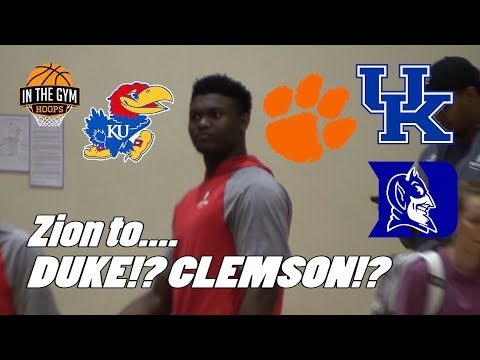 Zion Williamson Will Go To...? Breaking Down The Eve of His Commitment!