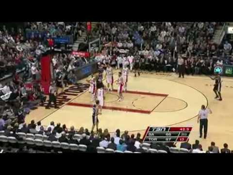 Toronto Raptors Vs San Antonio Spurs Feb 11 09 Youtube