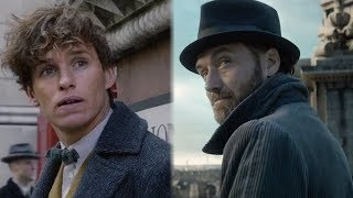 Fantastic Beasts FIRST Full Trailer Debuts First Look At Jude Law as Dumbledore & Johnny Depp