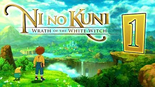 Ni no Kuni: Wrath of the White Witch Walkthrough Part 1 (PS3) ENGLISH [No Commentary]