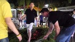 Firewalk with Michael Bolduc at Master NLP Certification!