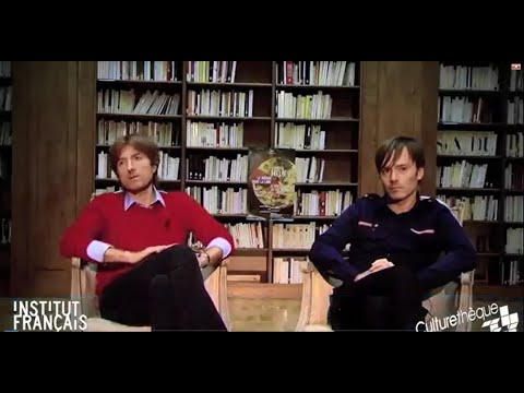 Interview with Air at the French Institute (Trip to the Moon)