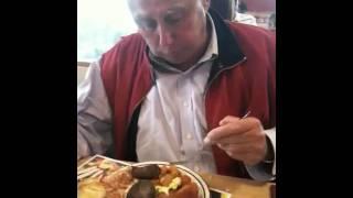 Jack Couzins & Helping #4 @ Frisch's Breakfast bar!!!