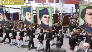 Desfile del 5 de Mayo en Puebla 2011 parte2