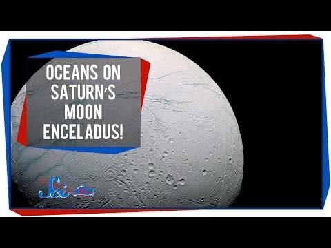 Oceans on Saturn's Moon Enceladus!