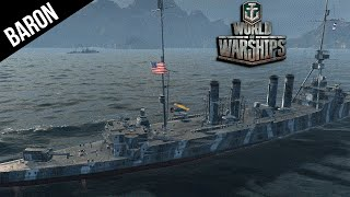 World of Warships American Cruisers are Beast! w/Phly & Slick