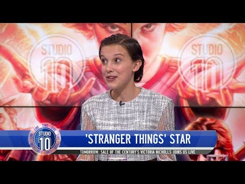 Millie Bobby Brown Talks 'Stranger Things', Female Empowerment, First Kiss & More | Studio 10