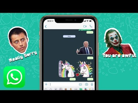 How To Create WhatsApp Stickers On IPhone