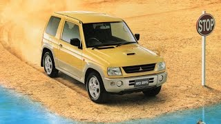 【自動車カタログ】 Mitsubishi Pajero MINI (1998年版) [HD]