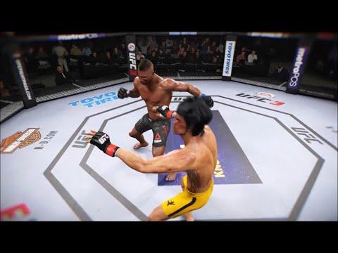 Bruce Lee vs Alistair Overeem | UFC 3 | EA SPORTS UFC 3 | K1 FIGHT
