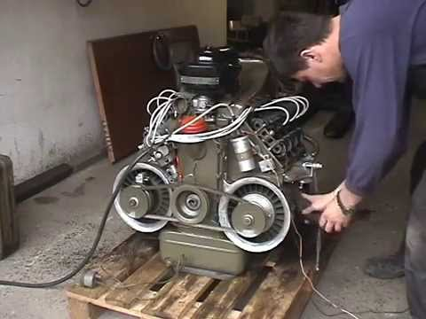 how to start engine goget
