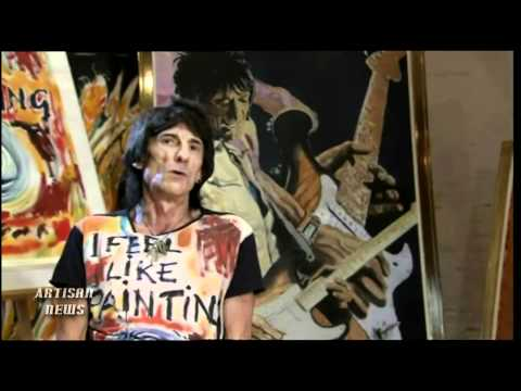ROLLING STONES GUITARIST RONNIE WOOD TO BRING FACES ART TO NYC