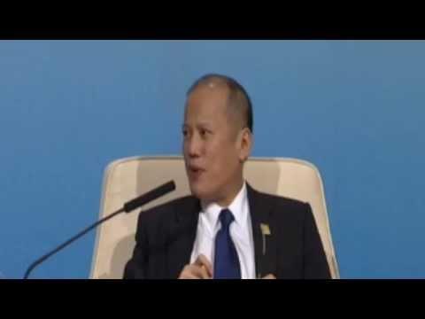 Benigno S. Aquino III, President of the Philippines at the APEC CEO Summit