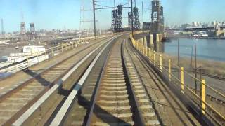 PATH: On Board: 1965 PA-1 PATH Train #616 from Harrison to Journal SQ Stations Part 1