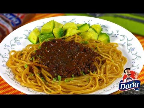 Spaghetti Doria sabor Ranchero con chile con carne Zenú