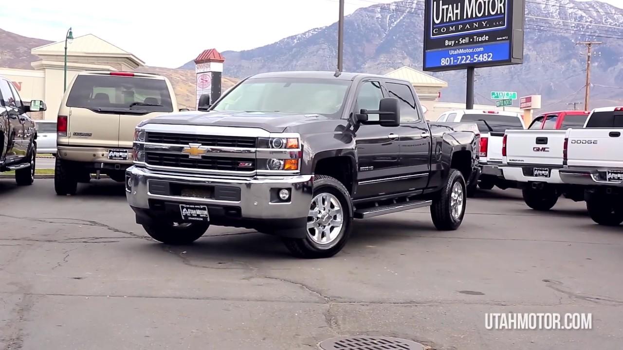 Silverado 2015 chevy silverado duramax : 2015 Chevrolet Silverado 3500 LTZ 6.6L Duramax Diesel Crew - Utah ...