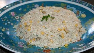 Recette Salade Froide Au Riz & Thon - Cold Rice & Tuna Salad Recipe - Recettes Maroc
