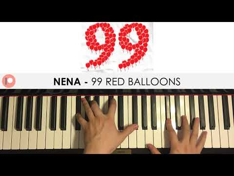 Nena - 99 Red Balloons  (Piano Cover) | Patreon Dedication #274