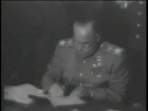 Allies Sign Control Law 1945