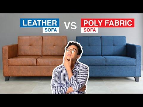 Leather vs Poly Fabric Sofa | MF Home TV