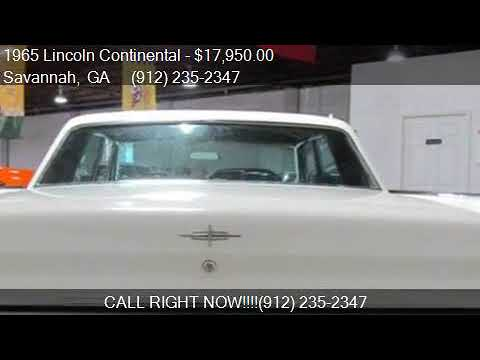 1965 Lincoln Continental for sale in Savannah, GA 31415 at