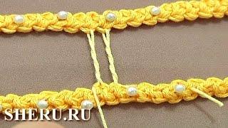 Румынское кружево Урок 50 часть 1 из 9 Простая брида