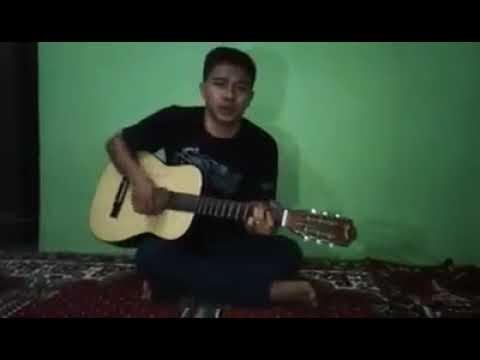 Lagu Merangap Versi Indonesia(cover Gitar..