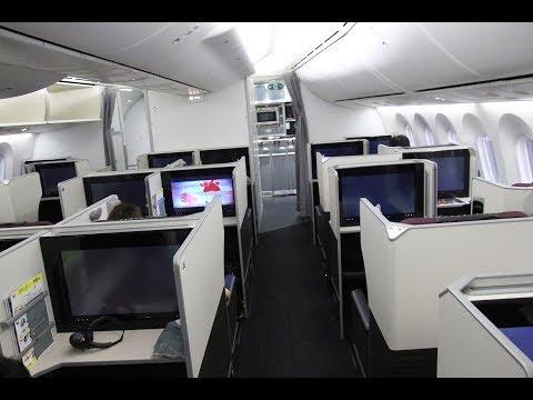JAL SKY SUITE 787 HAWAII「Business Class機内食」Seat 1K