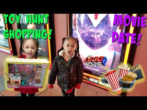 Movie Date and Toy Hunt Shopping with Mommy! family fun vlog