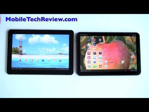 Samsung Galaxy Tab vs Motorola Xoom