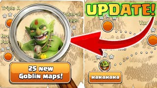 NEW GOBLIN MAP UPDATE IN CLASH OF CLANS, COC INDIA