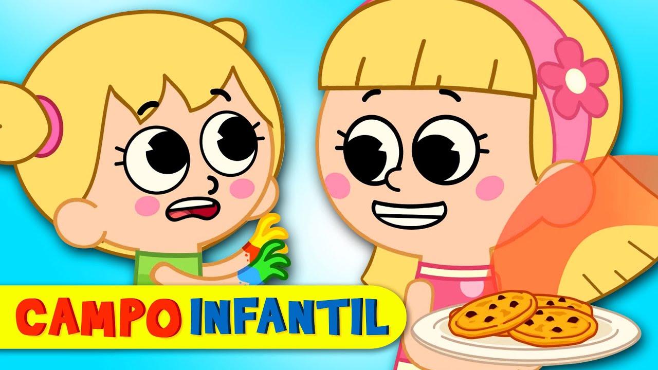 Campo Infantil | ¡Lava tus manos! - Canciones infantiles animadas