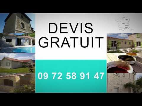 L 39 enduit imitation pierre par france d co youtube - Enduit imitation pierre ...