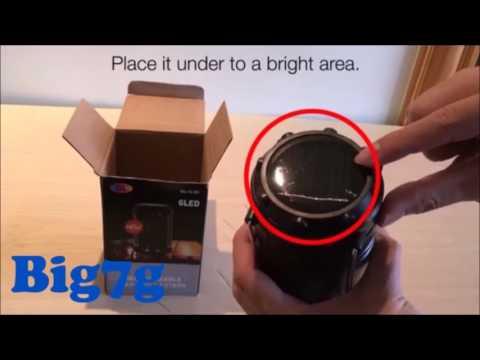 Ultra Bright SOLAR LED Lantern