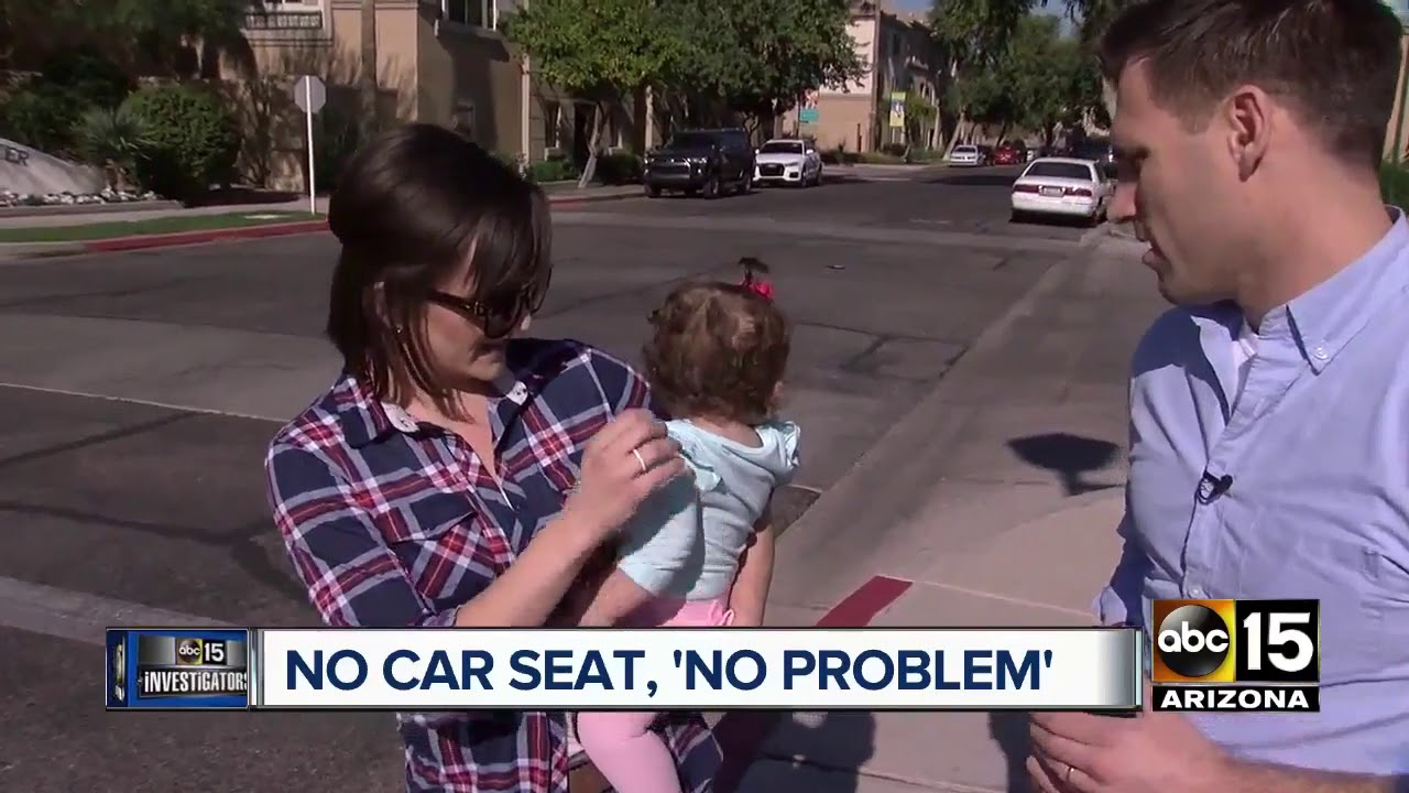 Are Uber And Lyft Drivers Around The Valley Breaking Child Car Seat Laws ABC15 Arizona