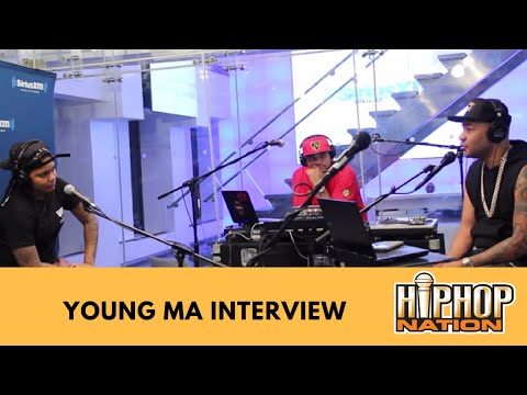 Young MA Interview With DJ Envy Talks Meeting 50...