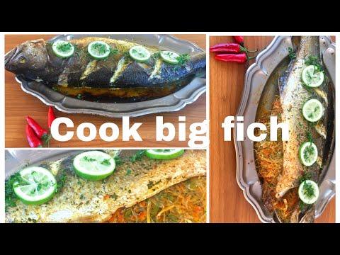 تحضير السمك المشوي في الفرن بحشوة لذيذة رائعة وصفات للعشاء 2021