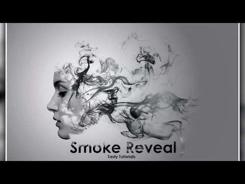 Creating Smoke Reveal Effect In Photoshop