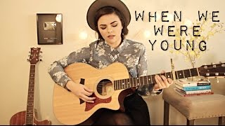 When We Were Young - Adele Cover