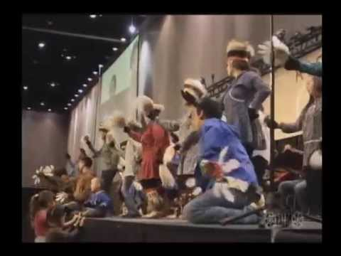 Inu-Yupiaq dance group at 2014 AFN convention