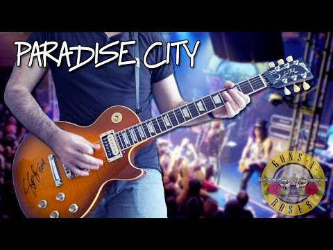 Paradise City - Full Instrumental Cover HD