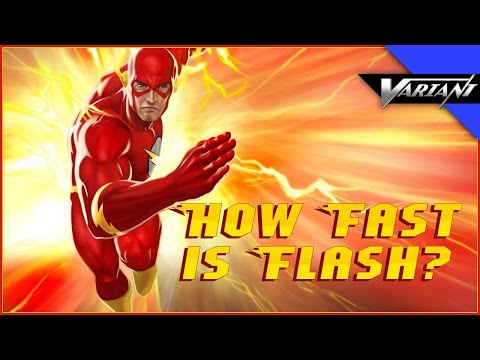 One Shot: How Fast Is The Flash?
