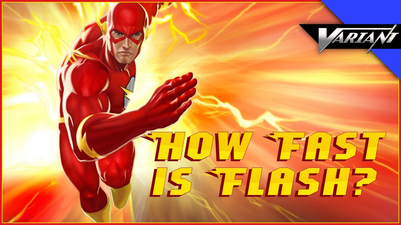 One Shot How Fast Is The Flash Youtube